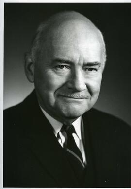 Portrait of Honorary Doctorate recipient 1974, Prof. C. P. Stacey