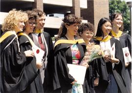 Promotional photograph of science graduates at Convocation