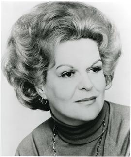 Portrait of Honorary degree recipient - 1979 - Dr. Maureen Forrester (Dr. of Civil Law)