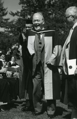 Honorary degree recipient A. Edgar Ritchie