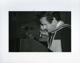Honorary degree recipient Michael J. Cowpland