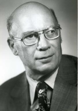 Portrait of Honorary degree recipient Robert B. Bryce (Doctor of Laws)