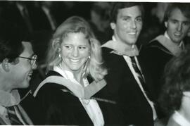 Unknown female graduate - Spring convocation 1985