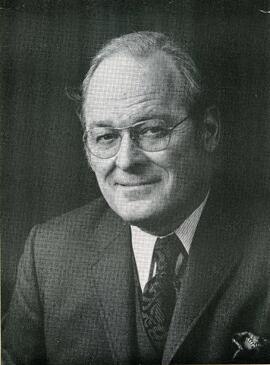 Portrait of Honorary degree recipient A. Edgar Ritchie
