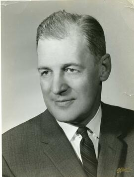Portrait of Gerard Filion, ca. 1960