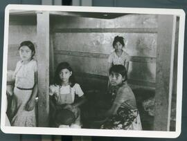 Colomoncagua camp hospital built by the refugees. Colomancagua, Honduras, 1985