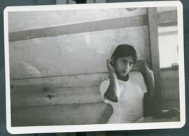 A young woman. Colomancagua, Honduras, 1985