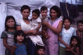 Families. There were many young mothers in the camps. Some fathers were FMLN fighters who came to...