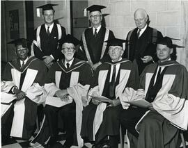 Graduates at Spring Convocation, 1963