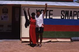 Women were very active in the SWAPO campaign.