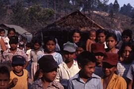 This image illustrate the demography of the camps and in particular the prominence of children an...