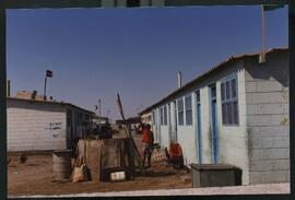 Katutura- a closer view of the housing- tiny individual quarters.