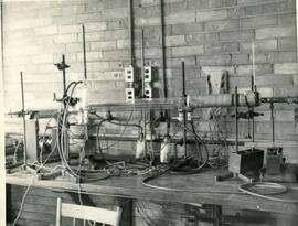 Physics equipment, ca. 1959