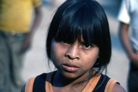A beautiful child-one of many. Colomancagua, Honduras, ca. 1985.