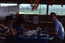 Dutch with Martin Barber and Mary Contier. El Tesoro, Honduras, ca. 1985.