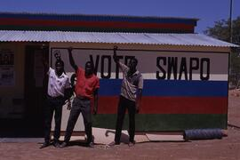 SWAPO local office at Usakos.
