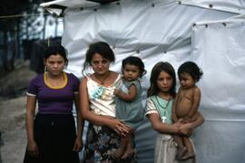 Lots of babies and young mothers. Colomancagua, Honduras, ca. 1985.