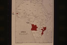 Map of Africa. For additional information on these slides, see the Meyer Brownstone historical file.