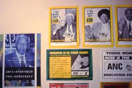 ANC campaign posters.