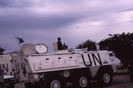 Armoured vehicles. The mission received many reports of ongoing violence and intimidation during ...