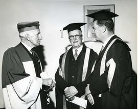 Vincent Massey, The Chancellor and President Dunton, 1963