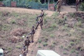Army searching for IFP in bush (See MBS-268).