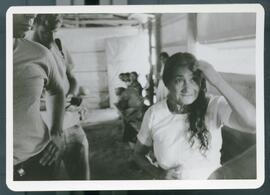 An older woman giving testimony. Colomancagua, Honduras, 1985