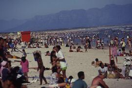 Post apartheid beach at Capetown.
