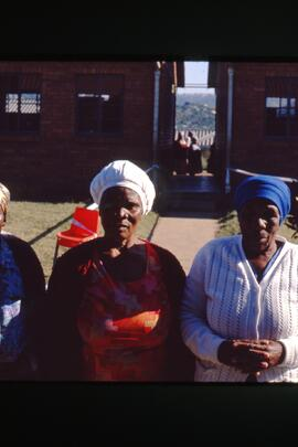 Determined voters. The Strength of African women was impressive. Their focus was clearly on the e...