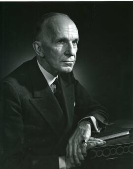 Portrait (by Karsh) of The Right Honorable Vincent Massey, C. H., 1963