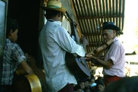 The local band. La Virtud, Honduras, ca. 1985